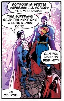 Villain goes after the Supermen