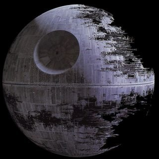 Death Star 2 as it appeared at the Battle of Endor
