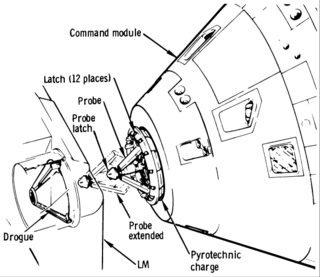 NASA command module connector