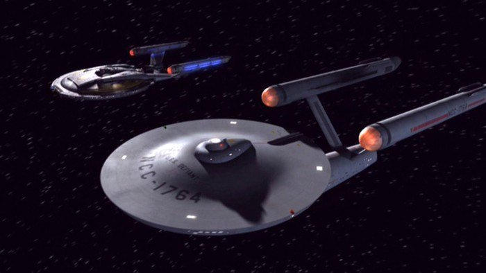 Enterprise and Defiant - In a Mirror, Darkly, Part II